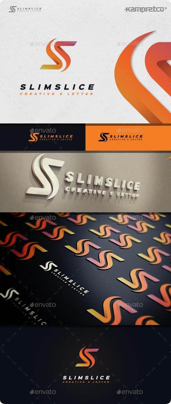 Slim Slice Logo - Letters Logo Templates