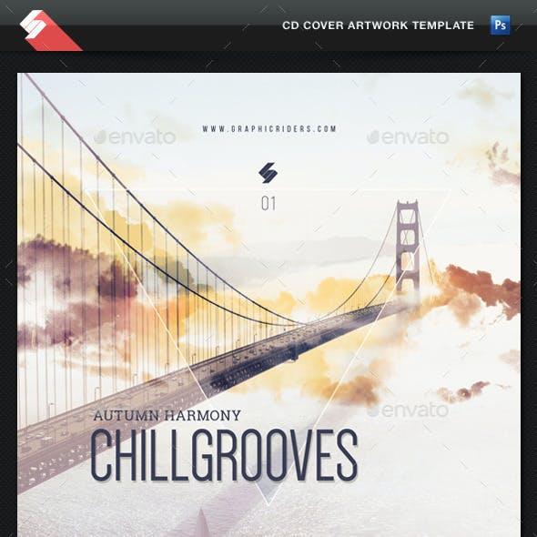 Chill Grooves (Autumn Harmony) - CD Cover Artwork