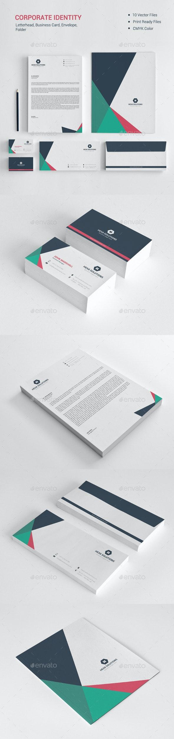 Corporate Identity 04 - Stationery Print Templates