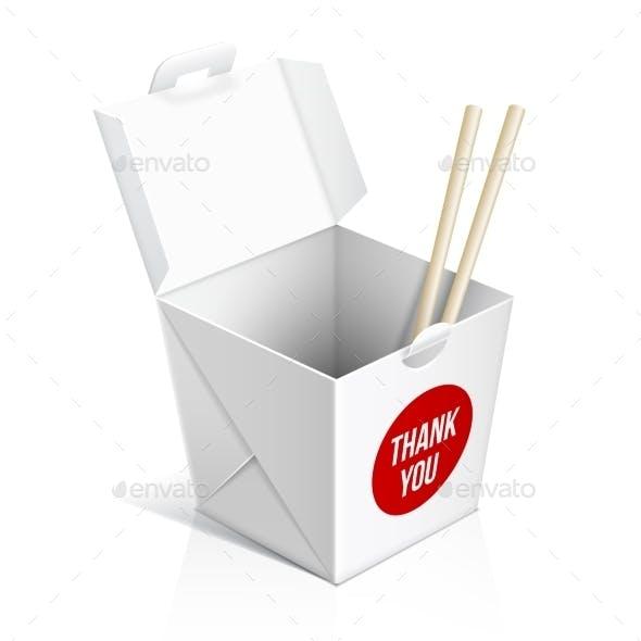 Chinese Restaurant Take Away Box