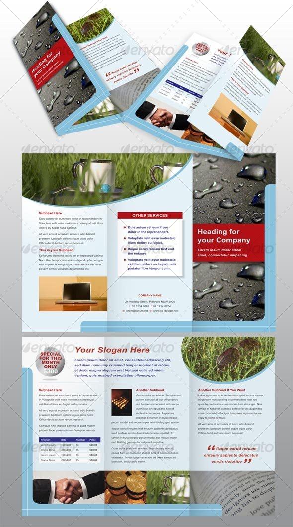 6 page modern brochure - Corporate Brochures