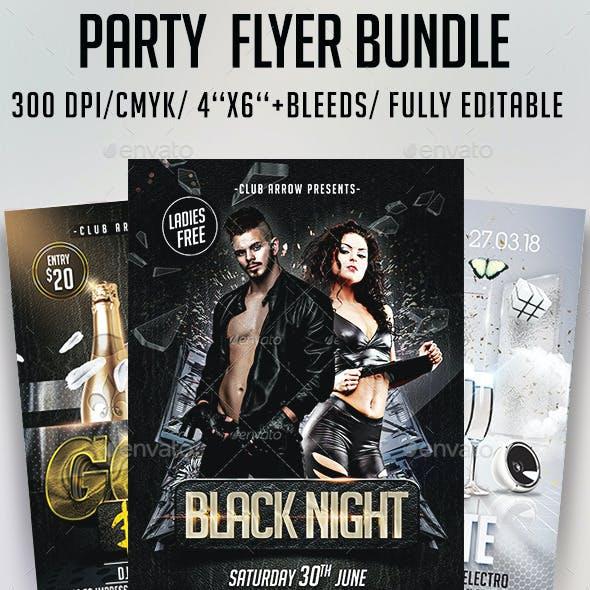 Party Flyer Bundle