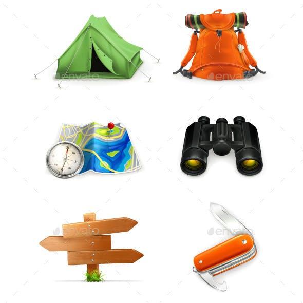 Tourism Illustration Icons