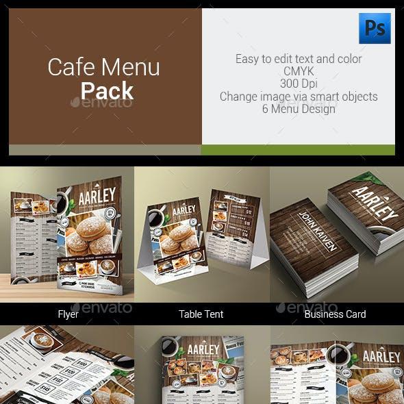 Cafe Menu Pack