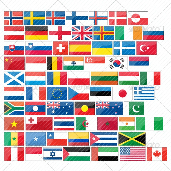 Flags Pack - Miscellaneous Icons