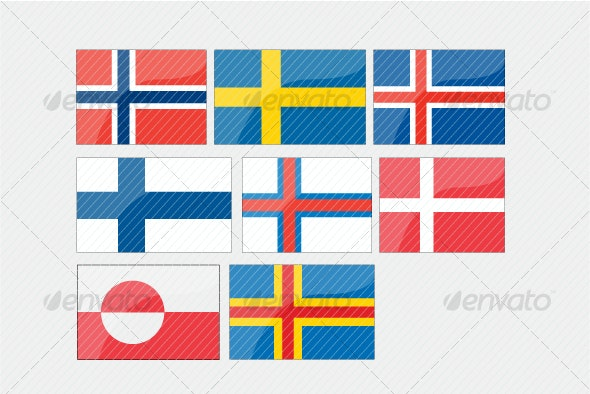 Flag Pack (Nordic)