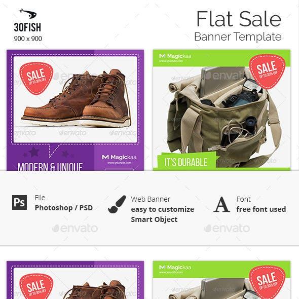 Flat Sale Banner