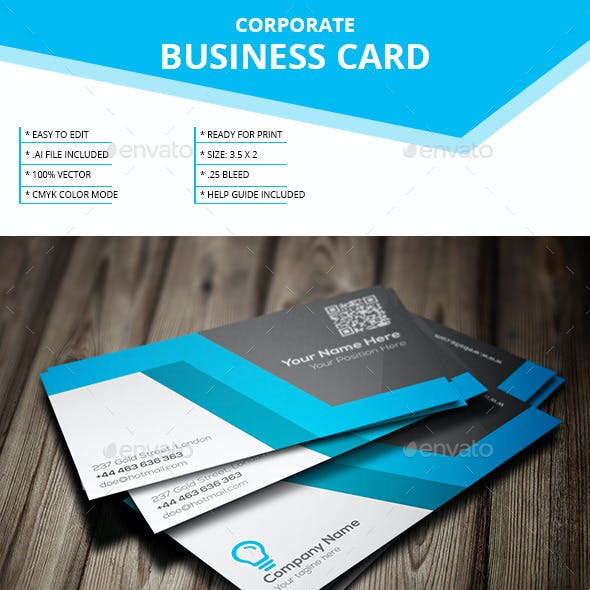 Corporate Business Card _ Vol-20