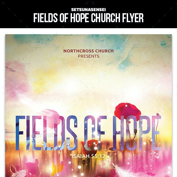Fields of Hope Church Flyer