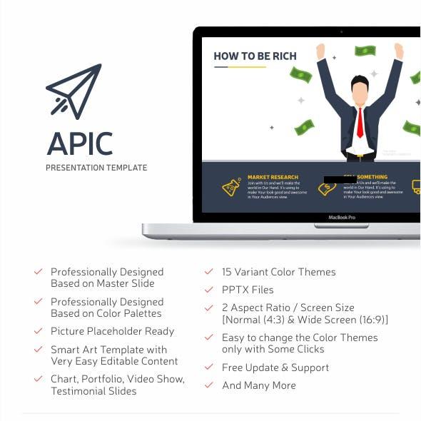 Apic Multipurpose PowerPoint Template