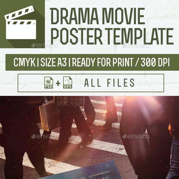 Drama Movie Poster Template