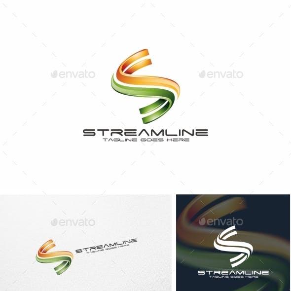 Streamline / S Letter - Logo Template