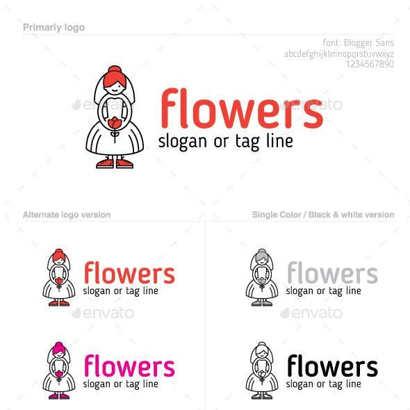 Wedding Flower Logo