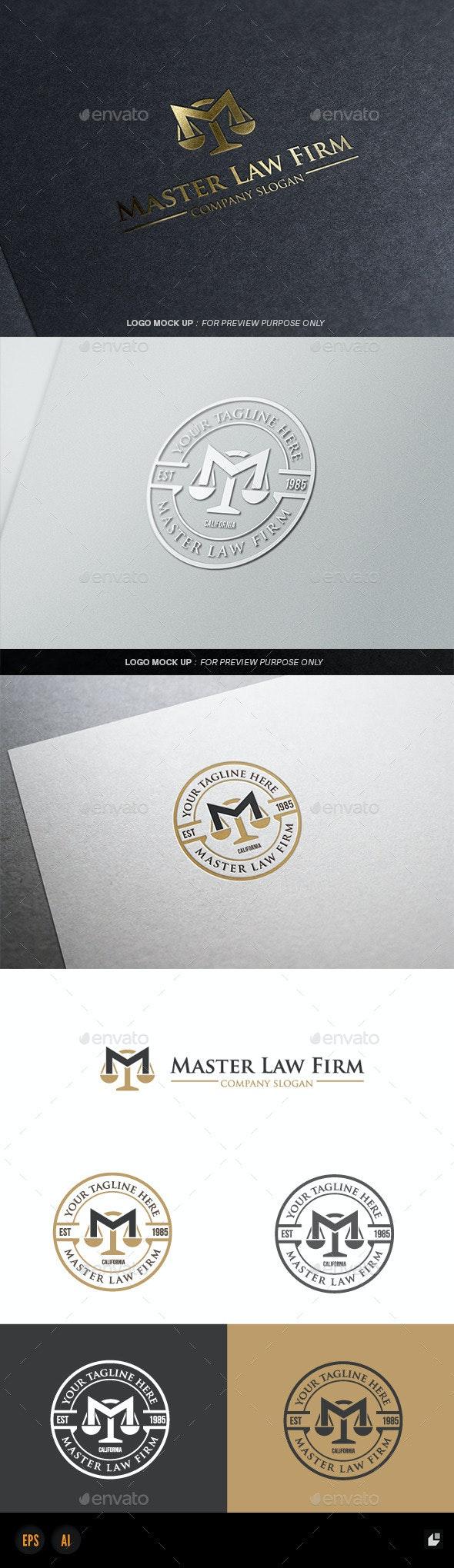 Law Firm V3 - Crests Logo Templates