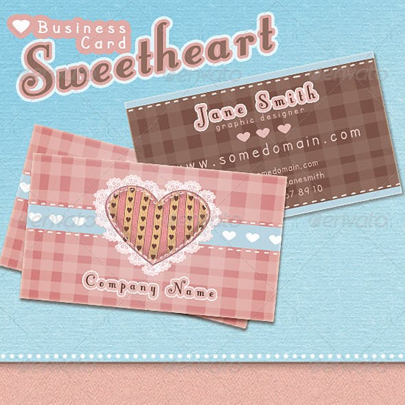 Sweetheart Business Card
