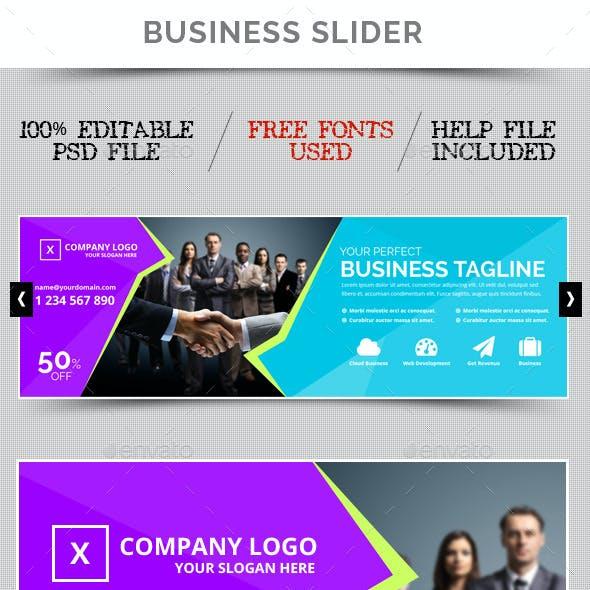 Business Slider V26