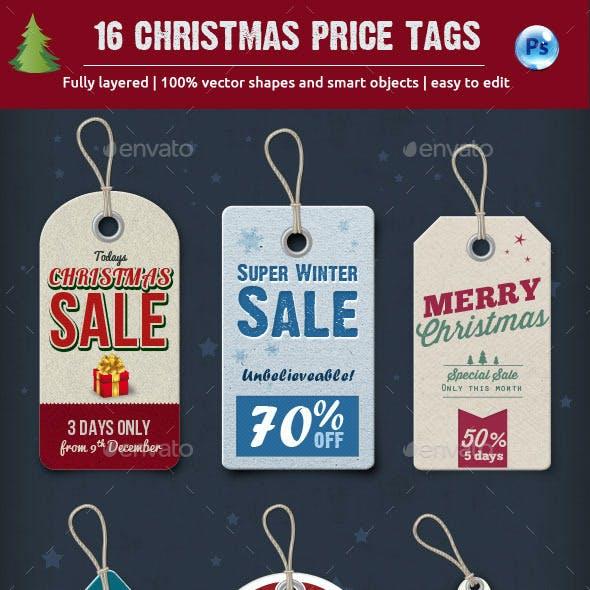 15 Christmas Price Tags