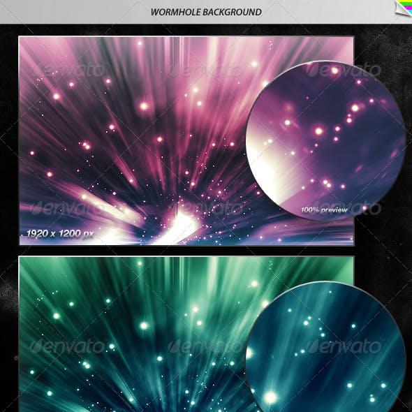 Wormhole Background