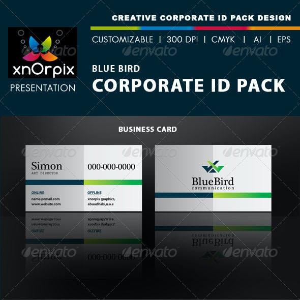 Blue Bird Corporate ID Pack