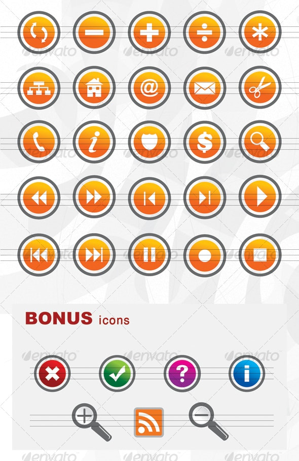 Web 2.0 icon set - Web Icons
