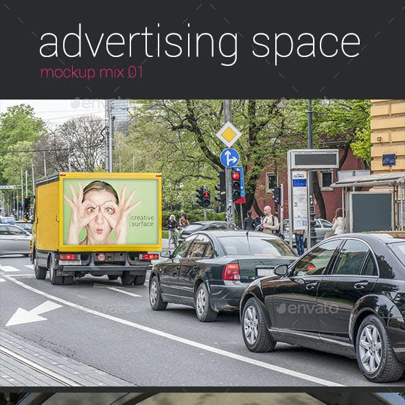 Advertising Space Mockup mix 01