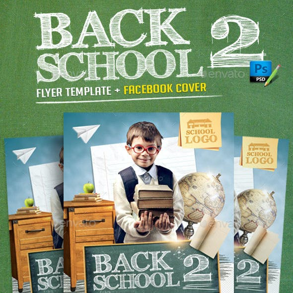 Back to School Flyer Template v2