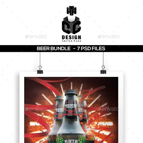 Beer Bundle Flyers