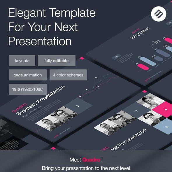 Quadro - Multipurpose Keynote Template