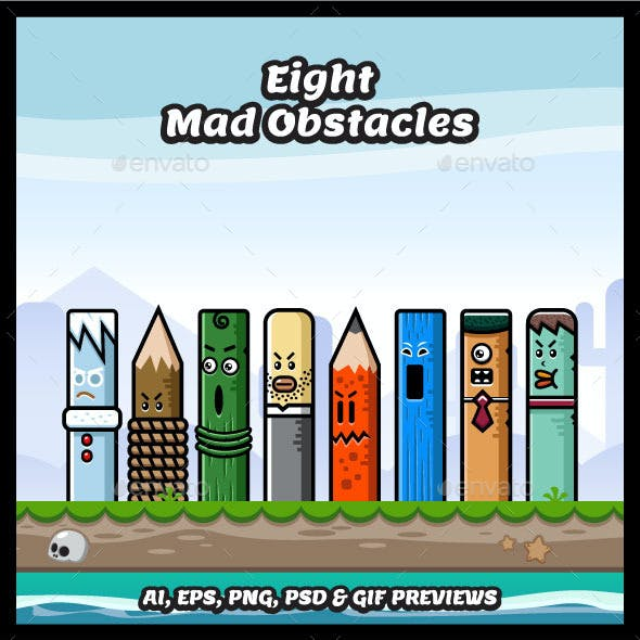 8 Mad Obstacles