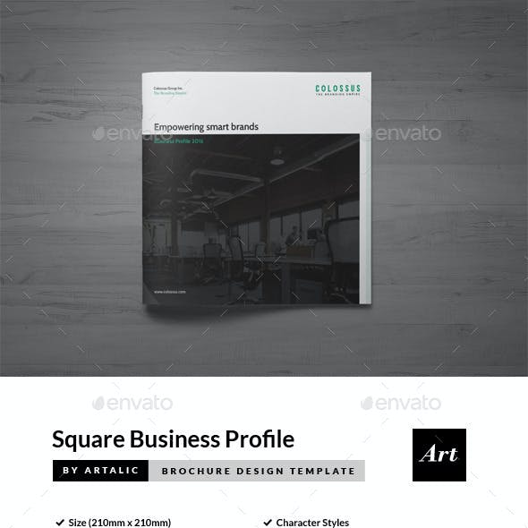Corporate Brochure (Square Format)