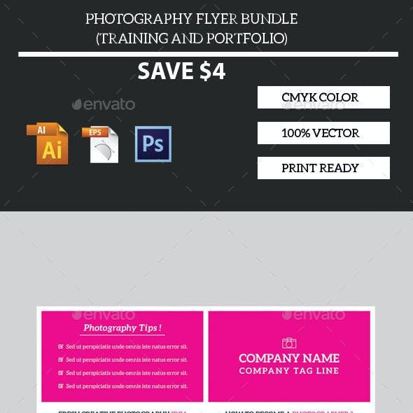 Photography Flyer Bundle Training & Portfolio