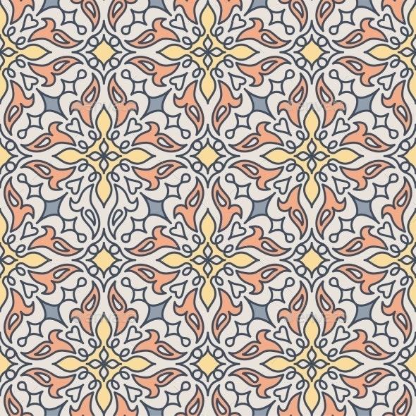 Arabic Seamless Pattern - Patterns Decorative