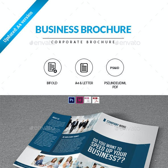 Bifold Brochure- Business