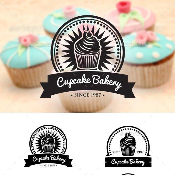 Retro Cupcake Badges