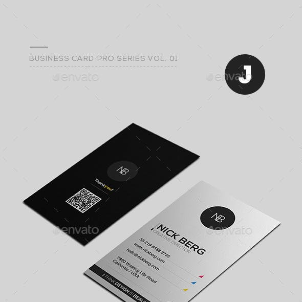 Business Card Pro Series Vol. 01