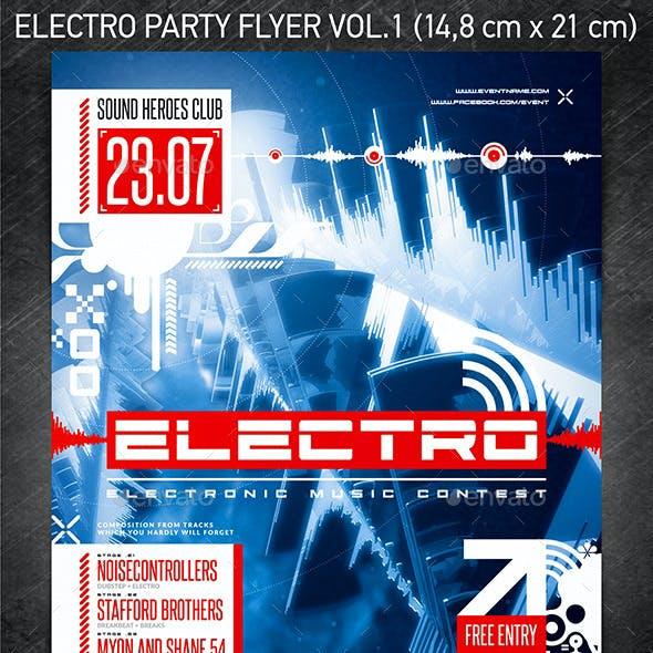 Electro Party Flyer vol.1