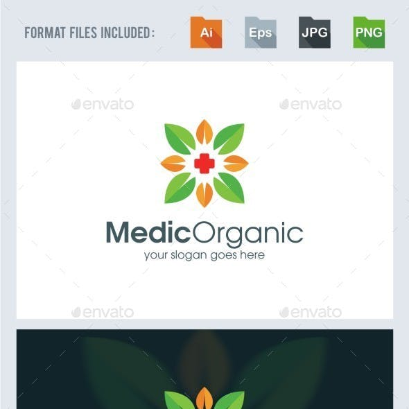 Medical Organic Logo Template