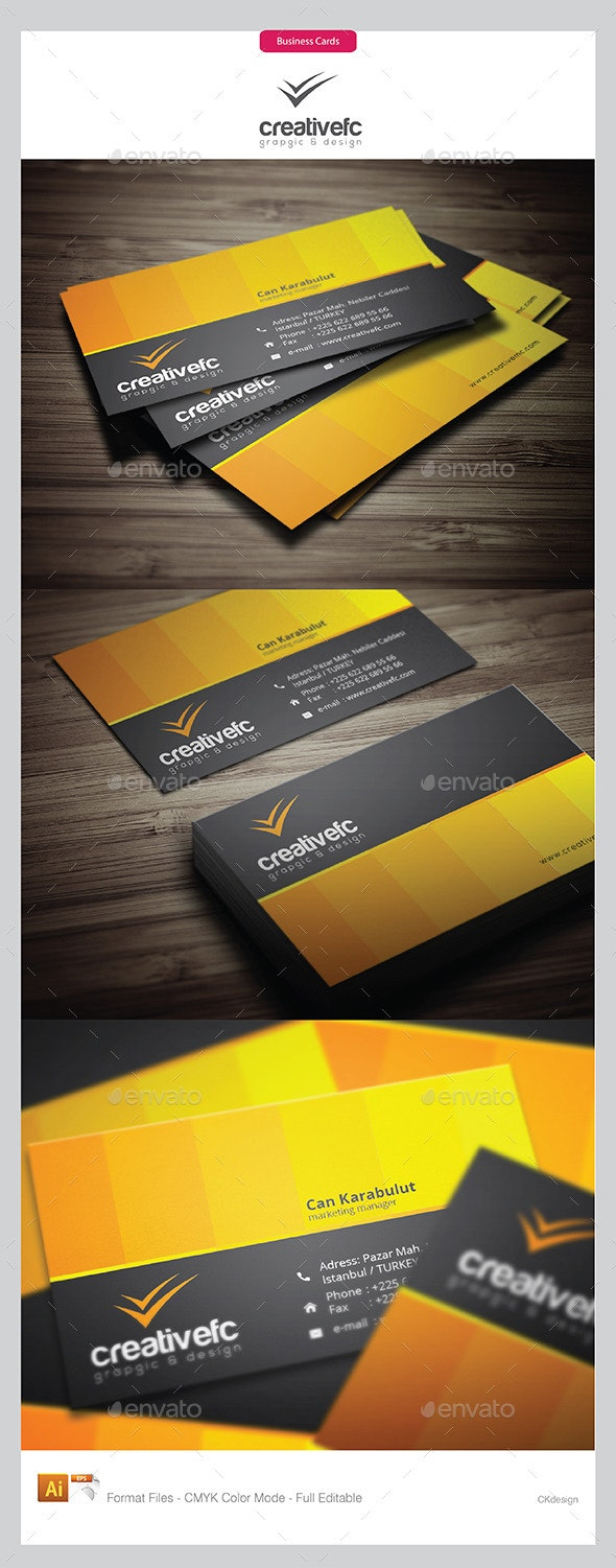 Creative Business Cards 12 - Business Cards Print Templates