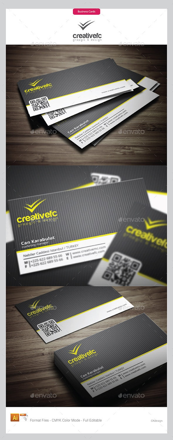 Creative Business Cards 14 - Business Cards Print Templates