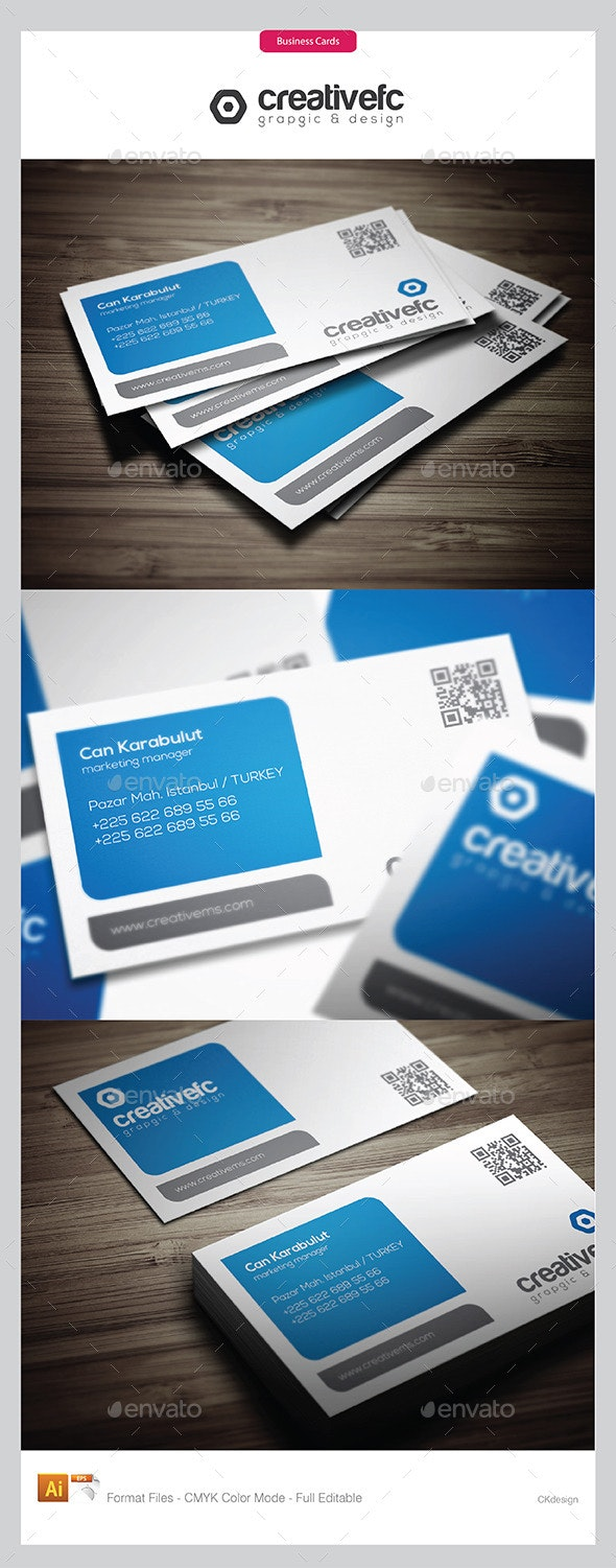 Creative Business Cards 17 - Business Cards Print Templates