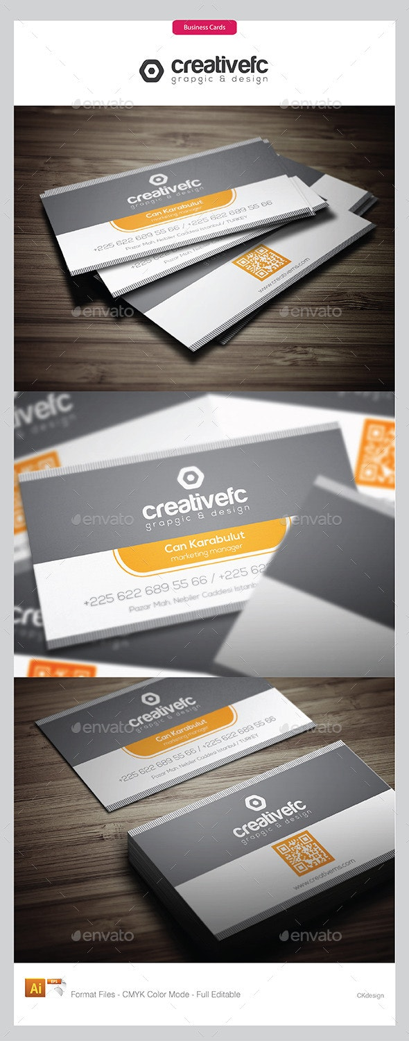Creative Business Cards 18 - Business Cards Print Templates