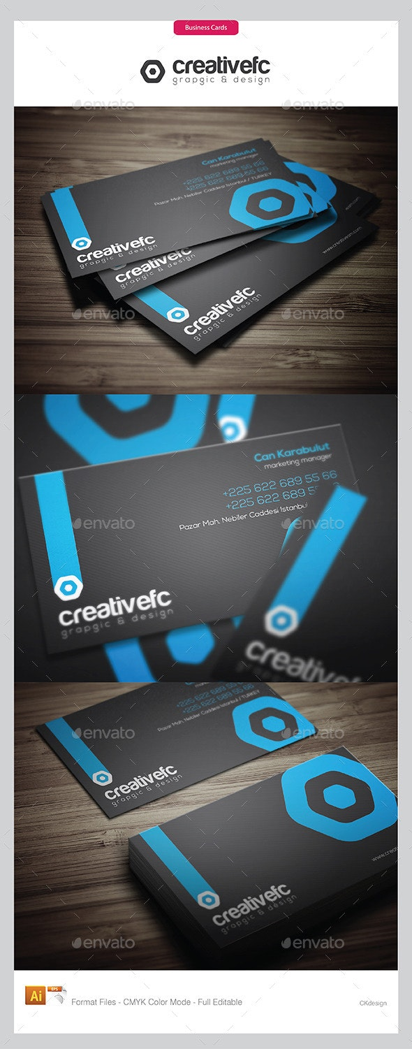 Creative Business Cards 19 - Business Cards Print Templates
