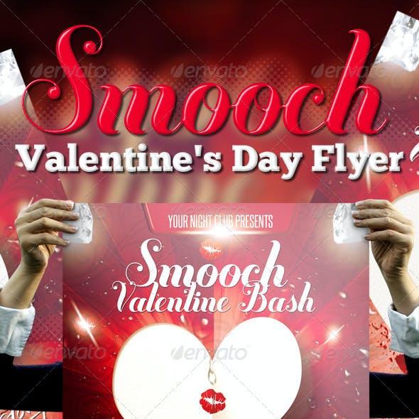 Smooch - Valentines Day Flyer