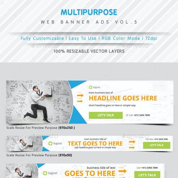 Multipurpose Web Banner Ads