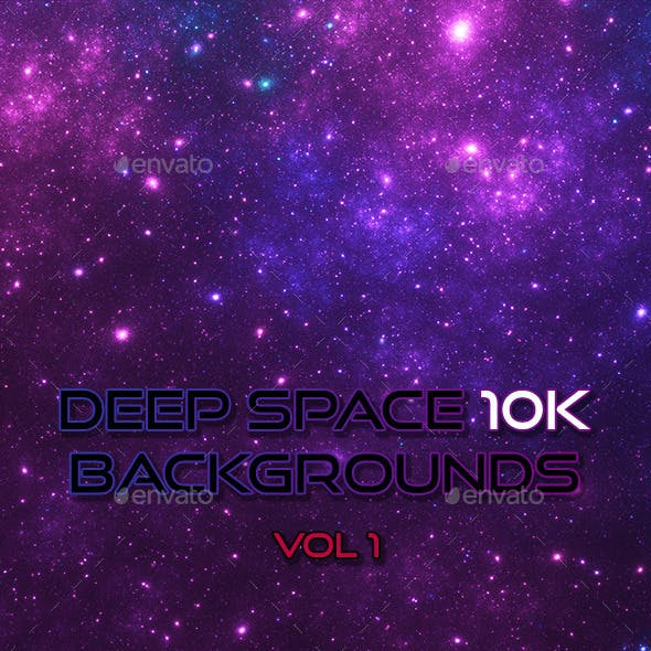 Deep Space 10K Backgrounds Vol1