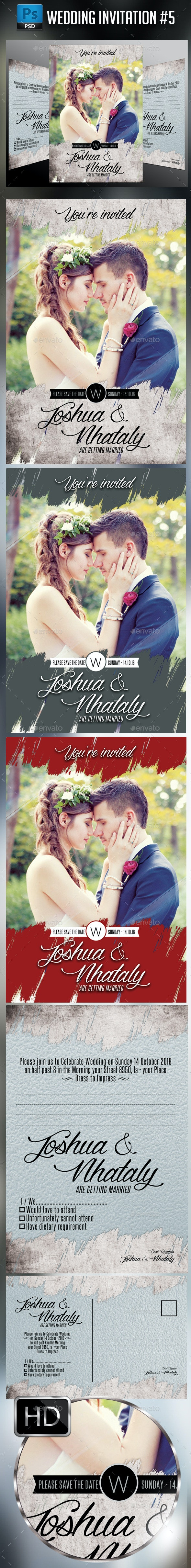 Wedding Invitation #5 - Weddings Cards & Invites