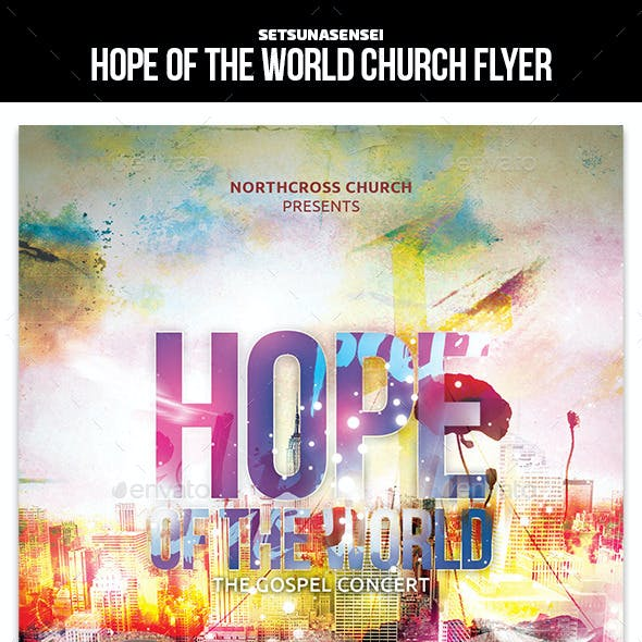 Hope of the World Church Flyer