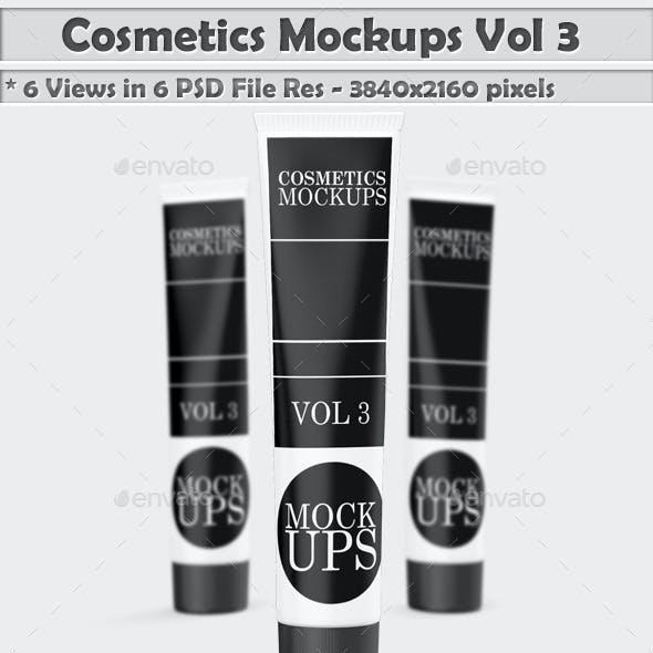 Cosmetics Mockups Vol 3