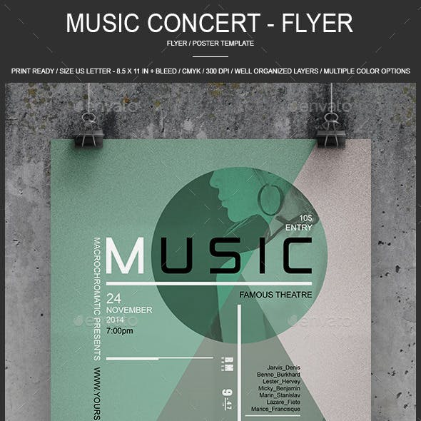 Music - Flyer / Poster
