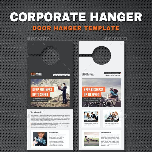 Corporate Door Hangers V13